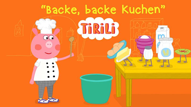 Backe Backe Kuchen Der Backer Hat Gerufen Tirili Kinderlieder